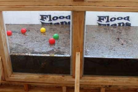 flood flaps demonstratioon
