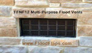 Flood Flaps FFNF12 Flood Vent