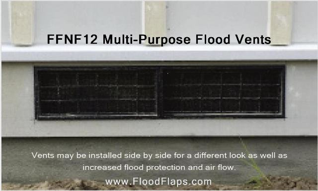 FFNF12 Multi-Purpose Crawl Space Vents