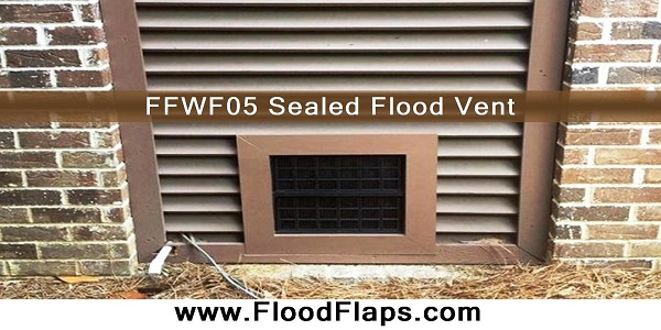 FFWF05 Sealed Foundation Flood Vents, Flood Flaps Vents