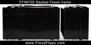 Flood Flaps FFWF05 Sealed Flood Vents side by side