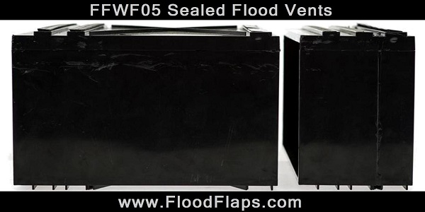 Flood Flaps FFWF05 Sealed Flood Vents side by side
