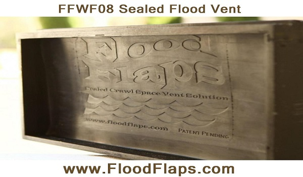 Flood Flaps FFWF08 Sealed Flood Vent