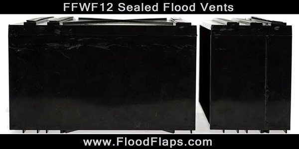FFWF12 Sealed Flood Vents side by side
