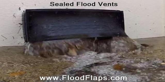Sealed Flood Vents in flood
