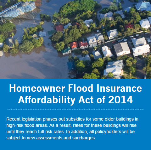 www.floodsmart.gov - Homeowner Flood Insurance Affordability Act of 2014
